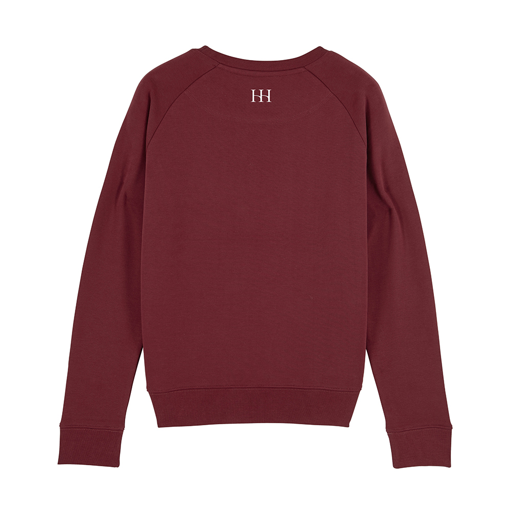 Burgundy Beesands Back