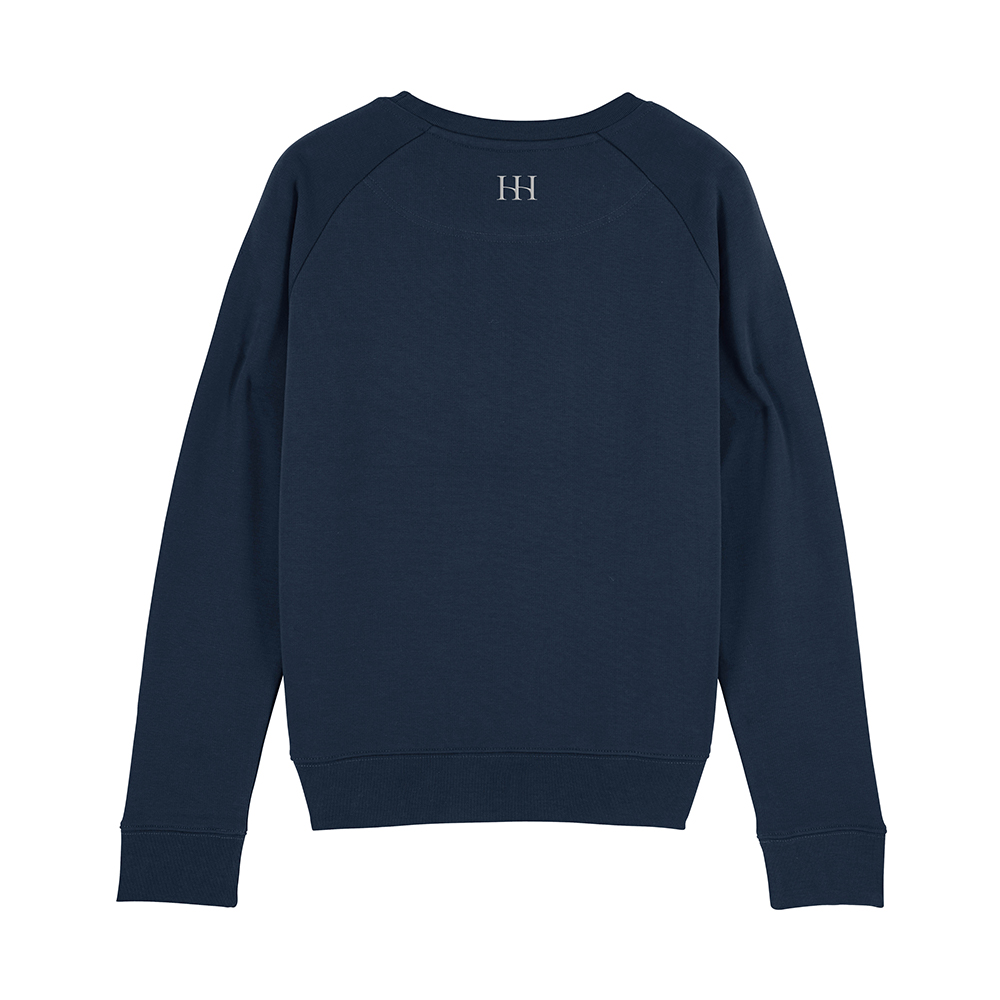 Navy Beesands Metallic Back
