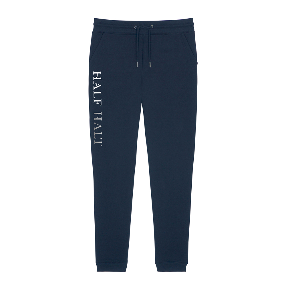 Navy Portree Joggers Front